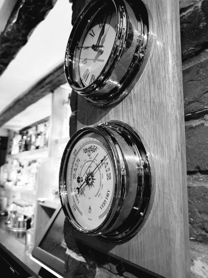 Clock and Barometer