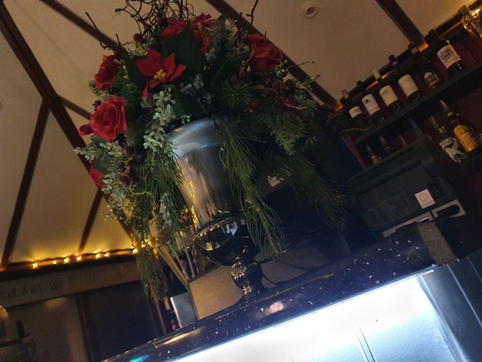 Cocktail Lounge Flower Arrangement