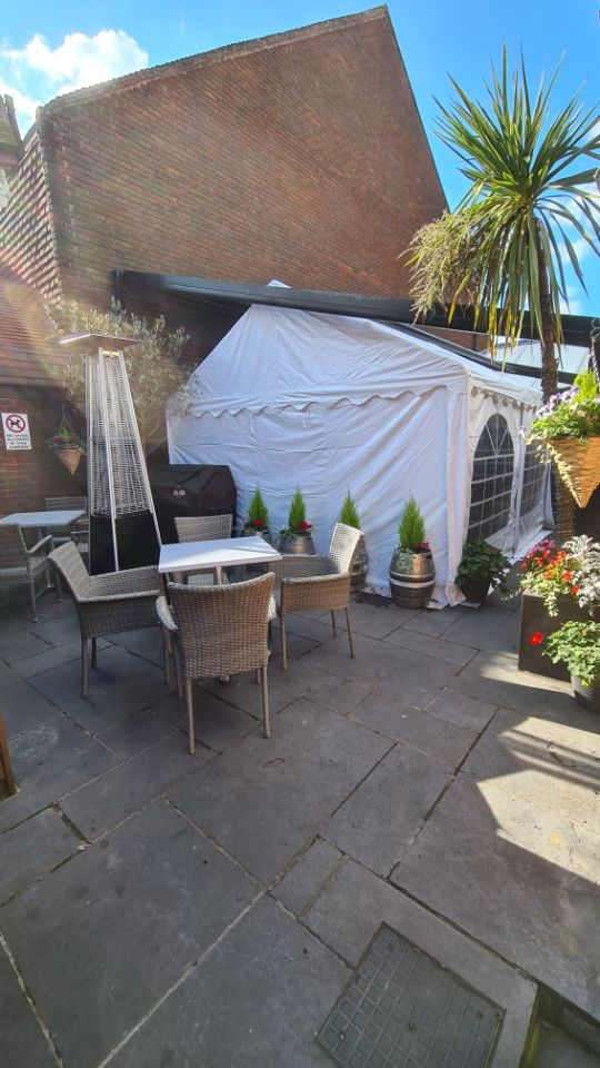 All-Weather Heated Marquee