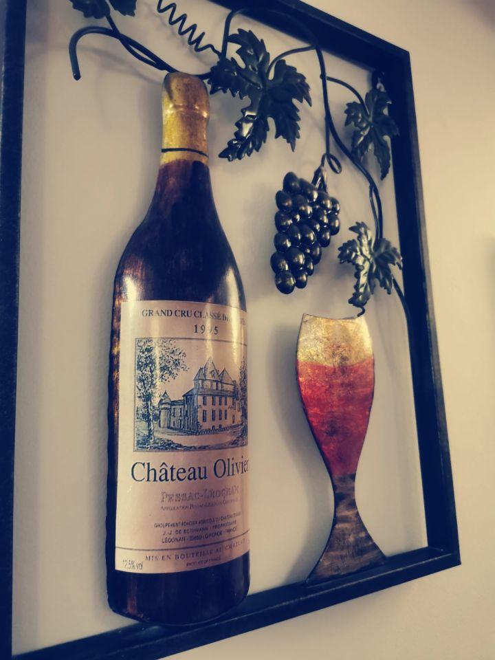 Wine Bottle 3D Picture