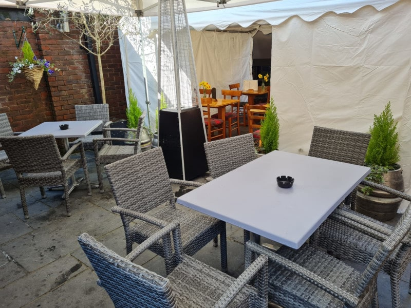 The Inn on the Furlong outdoor seating