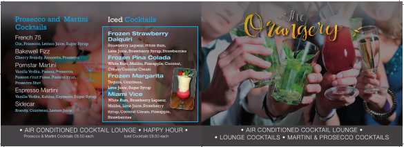 cocktail menu 1st page screenshot